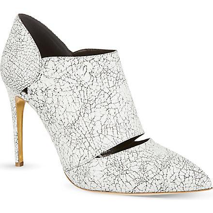 RUPERT SANDERSON Pinkbell ankle boots (Blk/white