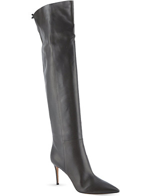 GIANVITO ROSSI Ellie over-knee boots