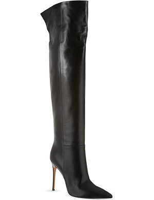 GIANVITO ROSSI Camelleo knee-high boots