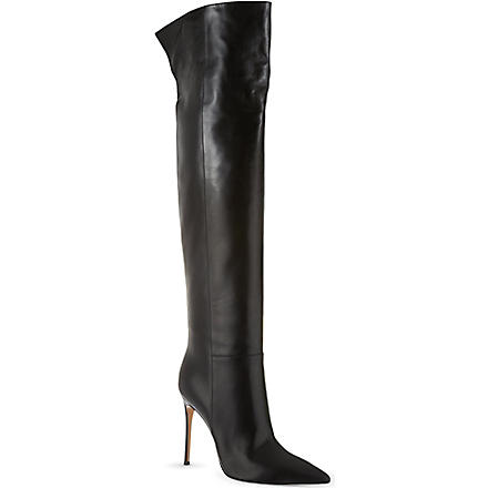 GIANVITO ROSSI Camelleo knee-high boots (Black