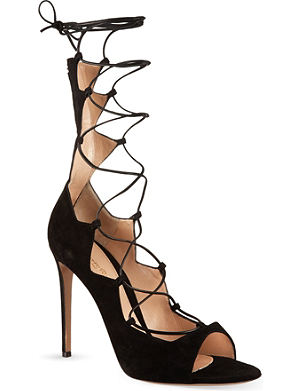 GIANVITO ROSSI Amber lace-up sandals