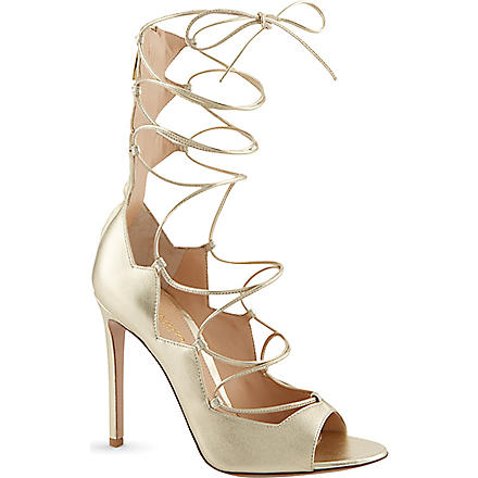 GIANVITO ROSSI Amber sandals (Gold