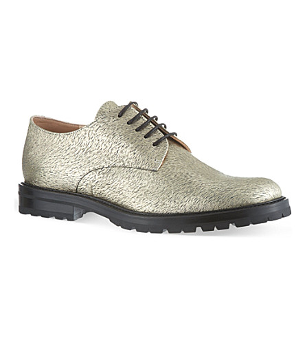 DRIES VAN NOTEN Mellon brogues (Gold