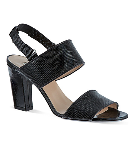 DRIES VAN NOTEN Mango heeled sandals (Black