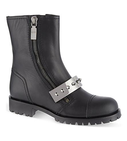 ALEXANDER MCQUEEN Biker boots (Black