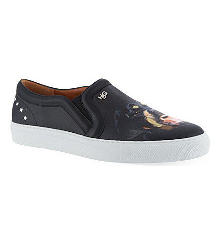 GIVENCHY Rottweiler skate shoes (Black