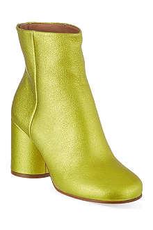 MAISON MARTIN MARGIELA Block heel ankle boots