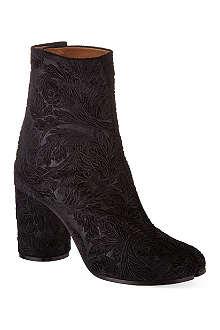 MAISON MARTIN MARGIELA Cow toe ankle boots