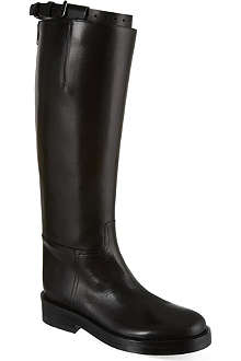ANN DEMEULEMEESTER Hong Kong high leather boots