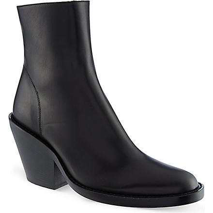 ANN DEMEULEMEESTER India ankle boots (Black
