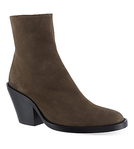 ANN DEMEULEMEESTER India boots (Taupe