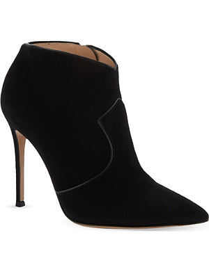 GIANVITO ROSSI Angel heeled ankle boots