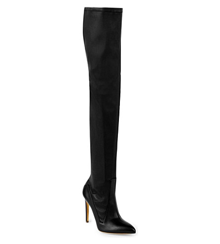 Rupert Sanderson Pointed-Toe Over-The-Knee Boots Buy Cheap Cheap qiUXUa