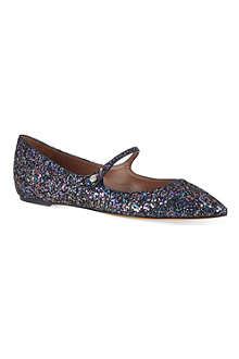 TABITHA SIMMONS Hermione glitter Mary Janes