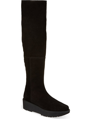 TABITHA SIMMONS Real Easy suede thigh boots
