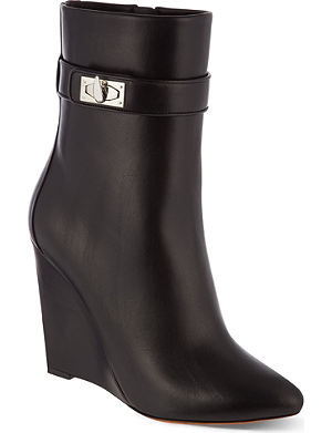 GIVENCHY Muse 90 wedge heel ankle boots