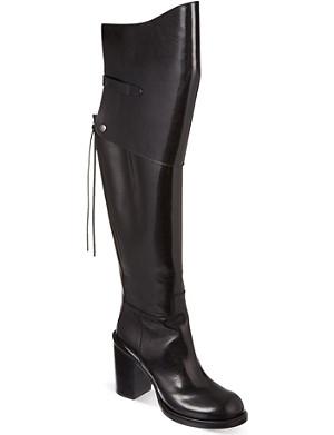 A.F.VANDEVORST Adjustable heeled thigh boots