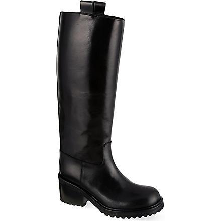 A F VANDEVORST Zumba knee-high boots (Black