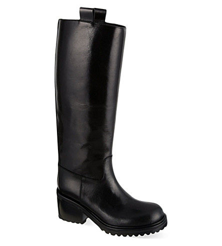 A F VANDEVORST Zumba knee-high boots (Black