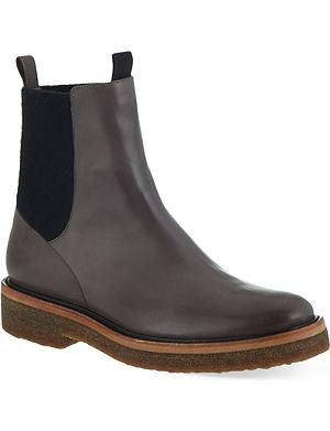 DRIES VAN NOTEN Bongo leather ankle boots