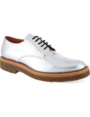 DRIES VAN NOTEN Silver Nilgai shoes