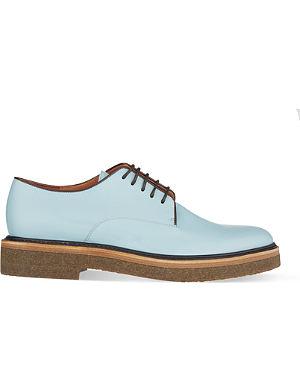 DRIES VAN NOTEN Lace-up crepe shoes