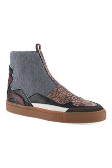 DRIES VAN NOTEN Probasis ankle boots