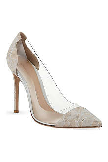 GIANVITO ROSSI Calabria exclusive lace courts
