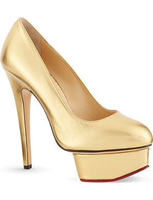 CHARLOTTE OLYMPIA Dolly Xmas court shoes
