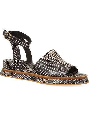 DRIES VAN NOTEN Stewart reptile sandals