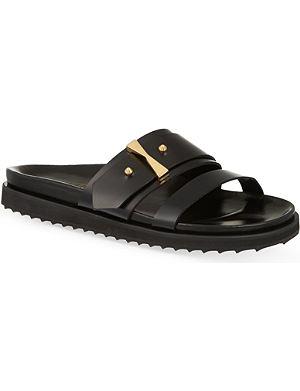 ALEXANDER MCQUEEN Aach leather sandals