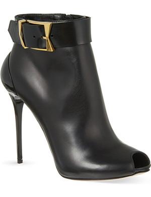 ALEXANDER MCQUEEN Korbach heeled boots
