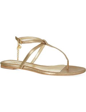 ALEXANDER MCQUEEN Turin chain sandals