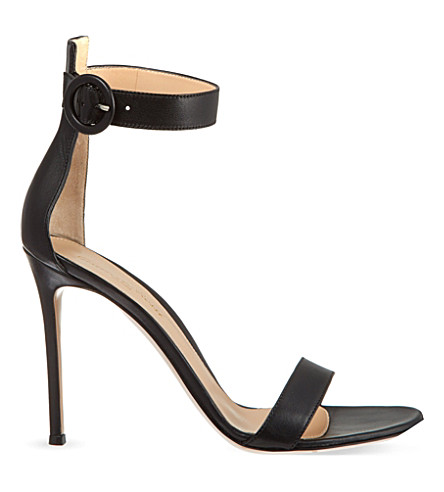 GIANVITO ROSSI Como heeled sandals (Black