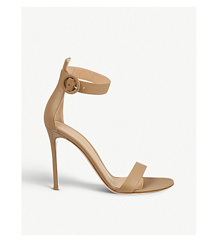 GIANVITO ROSSI Como heeled sandals (Nude