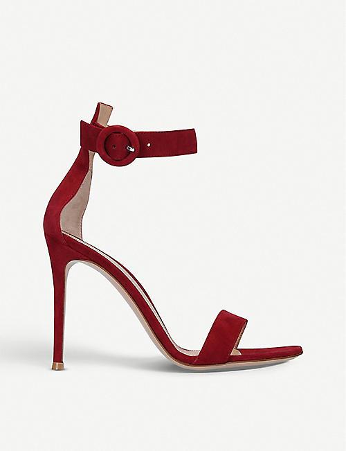 2996648898e GIANVITO ROSSI Portofino leather sandals