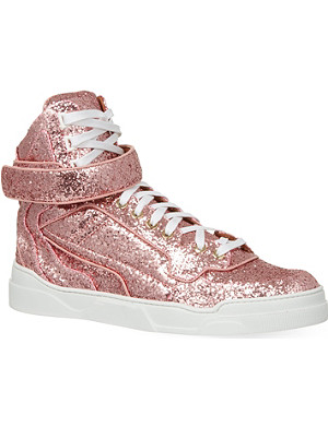 GIVENCHY Tyson glitter high top trainers