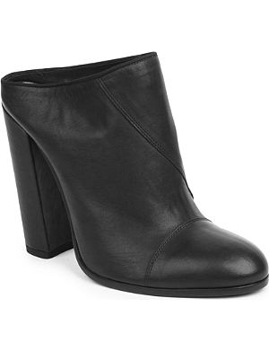 HAIDER ACKERMANN Granada backless heeled ankle boots