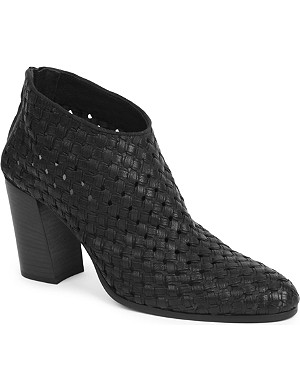 HAIDER ACKERMANN Seville woven ankle boots