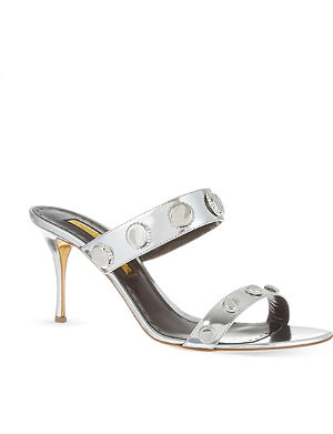 RUPERT SANDERSON Cynthia leather sandals