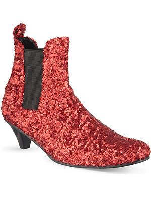 COMME DES GARCONS Sequin Chelsea boots