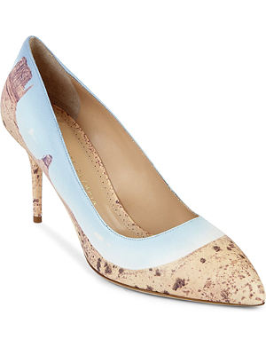 CHARLOTTE OLYMPIA Desiree panoramic court shoes