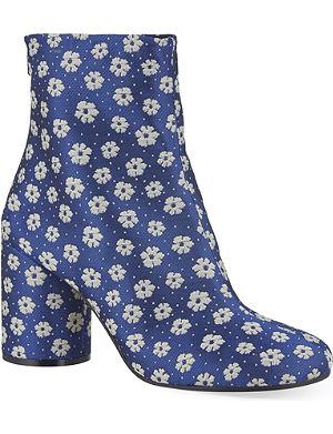 MARTIN MARGIELA No tabi floral boots