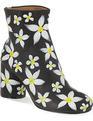 MAISON MARGIELA No Tabi floral print boots
