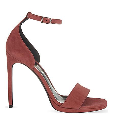 SAINT LAURENT Jane 110 heeled sandals (Pink