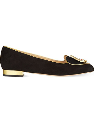 CHARLOTTE OLYMPIA Eclipse flats