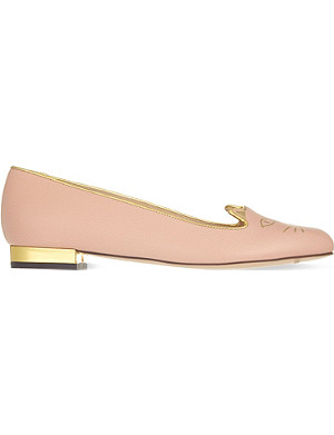 CHARLOTTE OLYMPIA Kitty Special flats