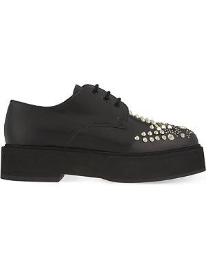 ALEXANDER MCQUEEN Studded Derby shoes
