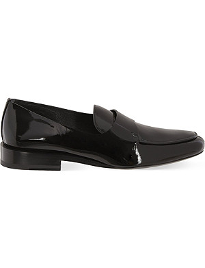 JIL SANDER Patent leather loafers