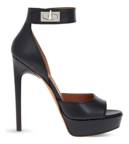 GIVENCHY Plara 125 leather sandals (Black